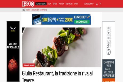 giulia restaurant leggo